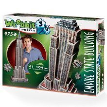 Wrebbit Empire State Building 3d Jigsaw Puzzle (975 Pieces)