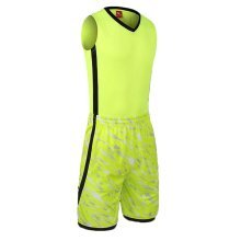 Jersey and Shorts Men Basketball Jerseys Suit Training Clothing
