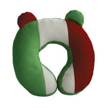 [Italy Flag] Durable Handmade Neck Pillow Canvas U-shaped Travel Pillow
