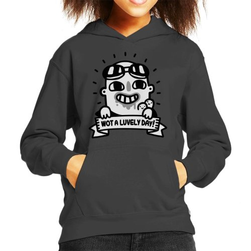 Mad Max Fury Road Nux Lovely Day Kid's Hooded Sweatshirt