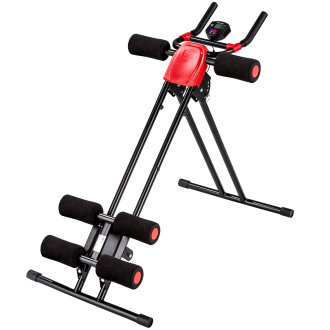 Ab machine - black/red