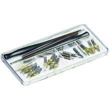 """ArtBin Pen & Nib Case-7.375""""X3.625""""X.6875"""" Clear"""