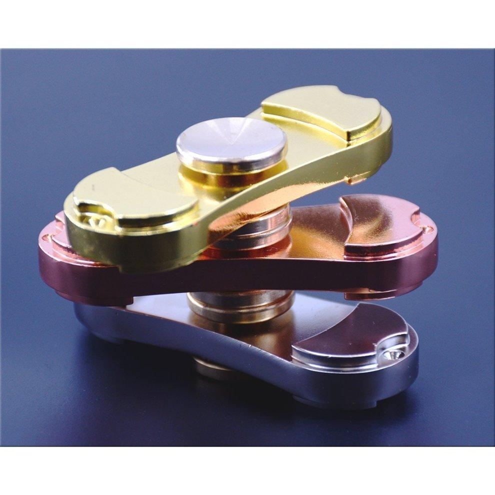 Dual Bar Hand Spinner Fidget Spinner Toy On Onbuy