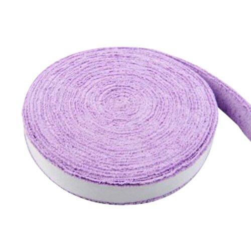 Badminton Crank Handle - Tennis, Badminton Hand Gel  Towel -- Purple