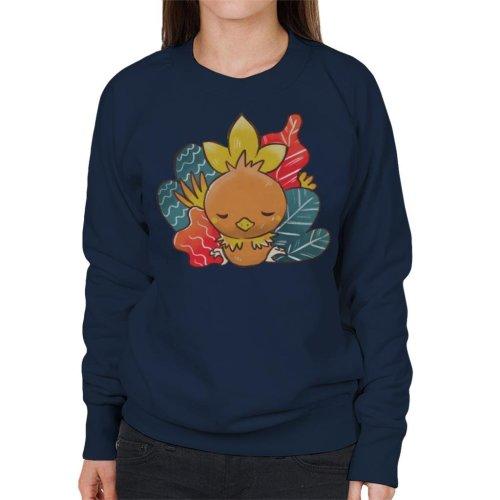 Pokemon Sleeping Torchic Women's Sweatshirt