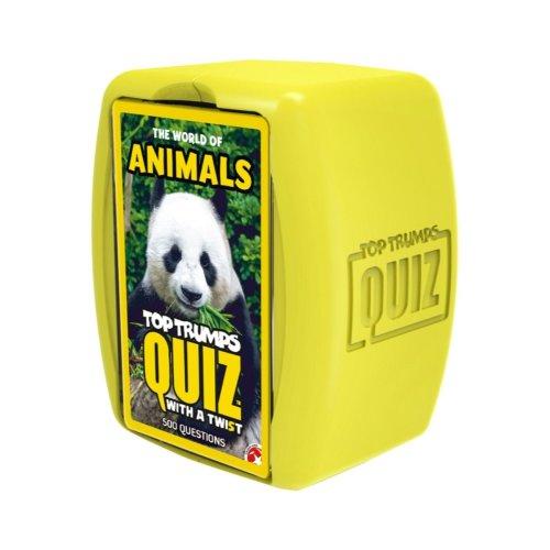 World of Animals Top Trumps Quiz