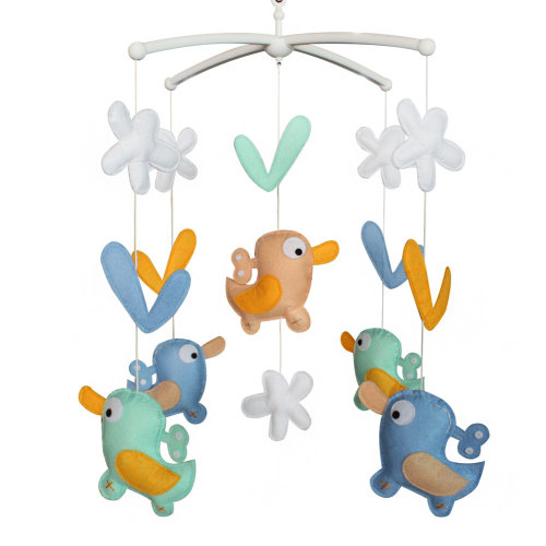 New Design HangingToys For Baby Crib Baby Musical Mobile