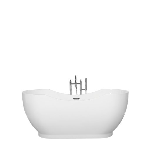 Freestanding Bath White BAYLEY