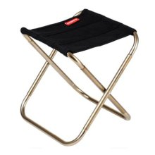 Portable Folding Chair Stool Camping Chairs Fishing Travel Paint Outdoor, Black
