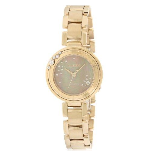 Citizen Eco-Drive L Carina Rose Gold-Tone Ladies Watch EM0463-51Y