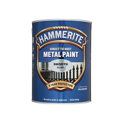 Hammerite SFDG250 Direct to Rust Smooth Finish Metal Paint Dark Green 250ml