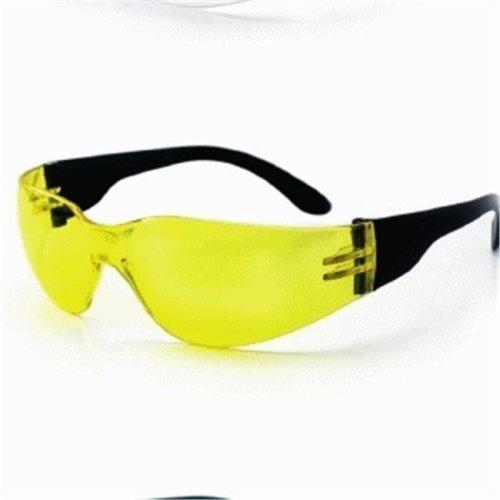 SAS Safety SAS-5341 NSX Eyewear with Polybag, Yellow