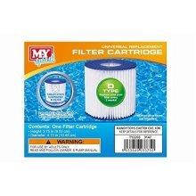 M.Y Splash 1 X Type D Universal Filter Replacement Cartridge Swimming Pool