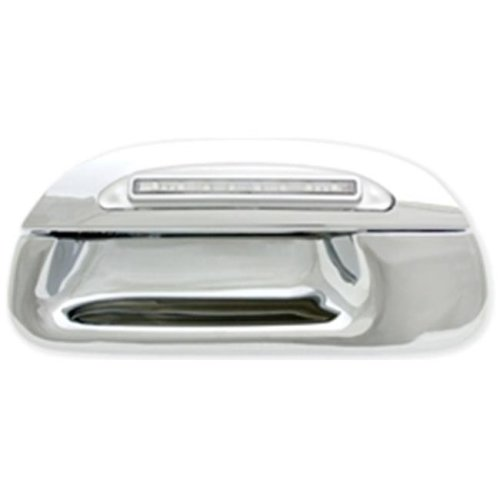 IPCW FLR97CT1 Ford F150, F250 Ld 1997 - 2003 LED Tailgate Handle, Chrome Red Led, Clear Lens