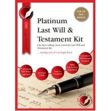 Last Will and Testament Kit PLATINUM Edition, 2018-19.