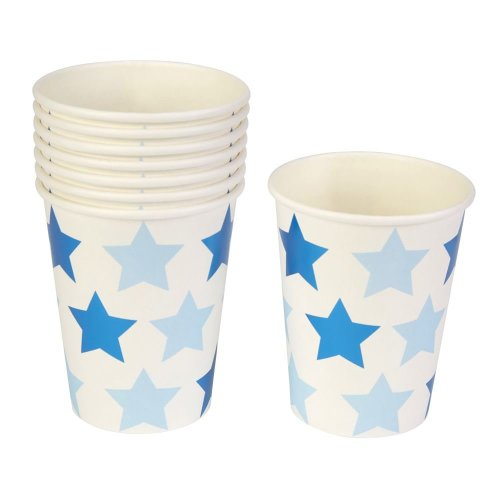 Little Star Blue - Paper Cup - 8 Pack