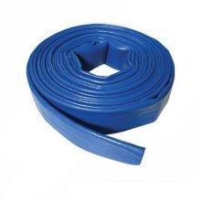Silverline Lay Flat Hose 10m x 40mm -  flat hose x silverline 10m 40mm lay 868776 discharge
