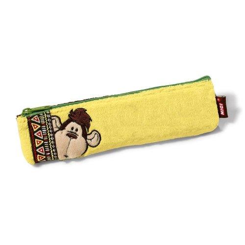 Nici 40249 19.5 x 5 cm Wild Friends Monkeys Plush Flat Pouch Toy