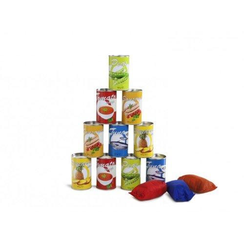 Tin Throwing (food theme) Multicoloured - BuitenSpeel