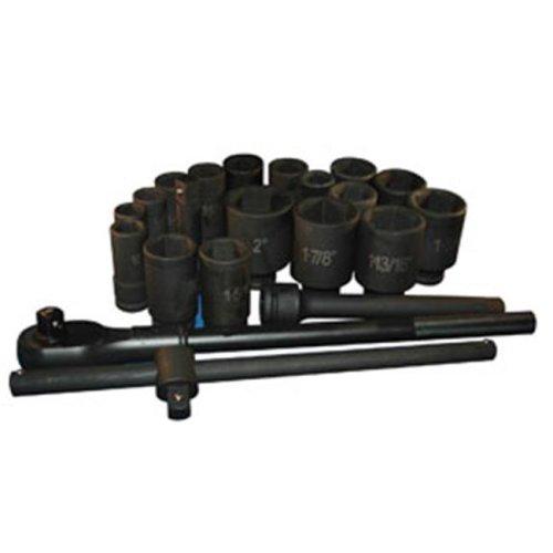 ATD Tools ATD-6405 22 Piece 3/4-Inch Drive SAE Deep Impact Socket Set