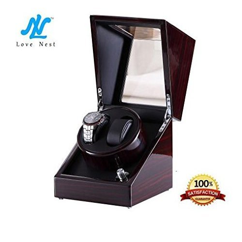 Love Nest automatic double Watch Winder in Piano finish
