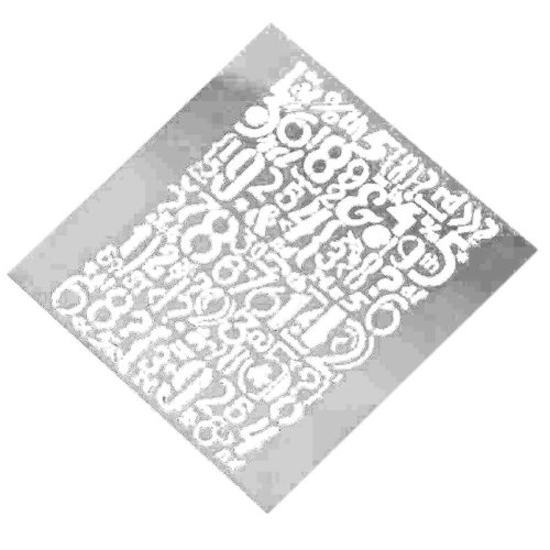 Painting Drawing Drawing Art Planner Stencil Template Ruler White Set 6