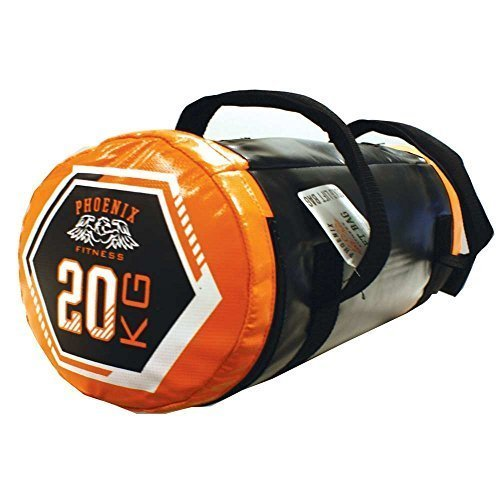 20kg Lifting Bag - Phoenix Fitness Weighted Power Boxing Training Sand -  phoenix fitness 20kg weighted lifting power bag boxing training sandbag