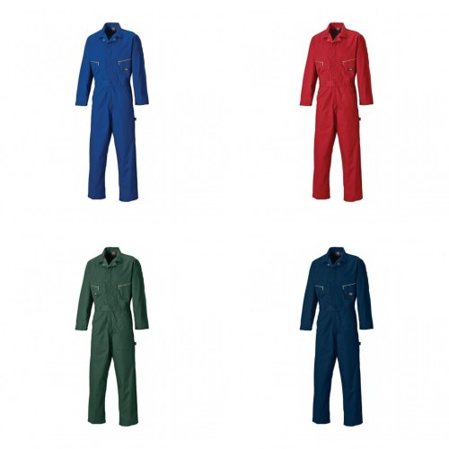 Dickies Mens Work Wear Deluxe Water And Stain Repellent Overall