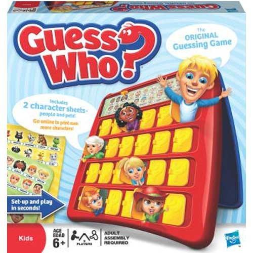 Hasbro Kids Games - Guess Who ?