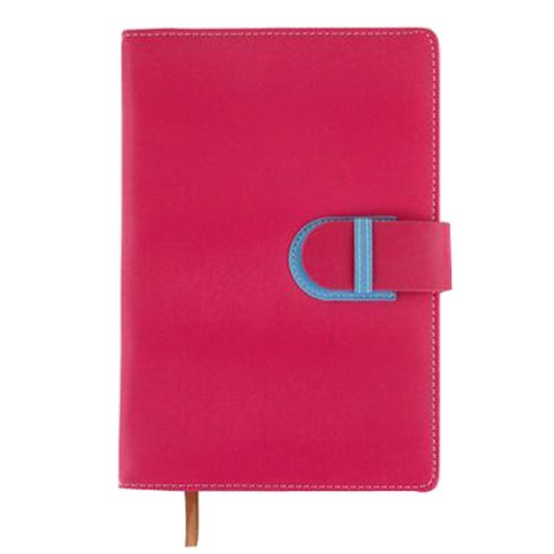 Office Notebook Portable Planner Personal Organizer Planner Schedule [Red]