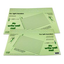 Writewell Mat (Green)  Right and Left handed