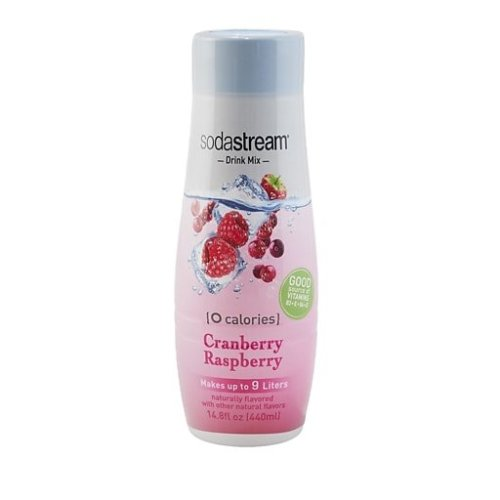 Sodastream Concentrate Syrup 440ml Diet Cranberry/Raspberry