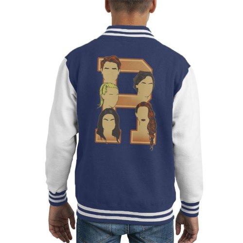 Archie Jughead Betty Veronica Cheryl Riverdale Kid's Varsity Jacket