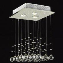 HOMCOM 3-Light Wall Mounted Modern Ceiling Pendant Chandelier Lamp
