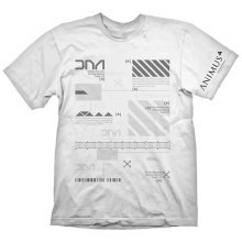 Assassins Creed Mens Animus Powered By Abstergo Industries T-Shirt XL White GE1800XL