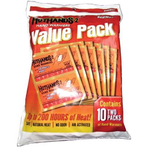 Hot Hands 371823 Hothands 2 Value Pack - 10 Pair