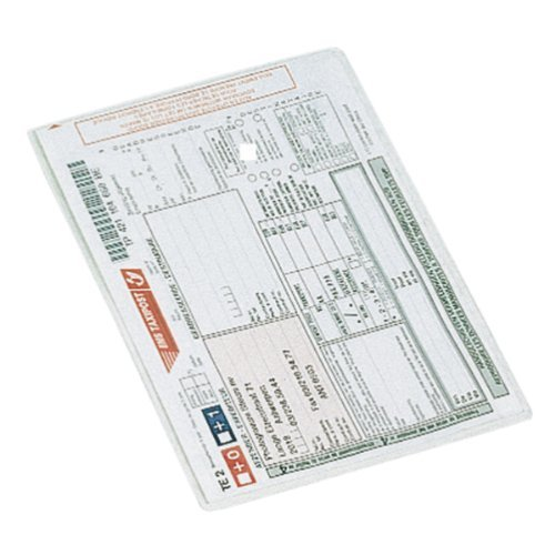 Esselte Card Holder, Pack of 100, A5 Format, Transparent, 105 Micron PP Material, 47775