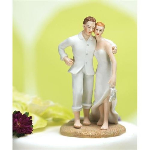 Weddingstar 7101 Beach Bride and Groom Cake Topper