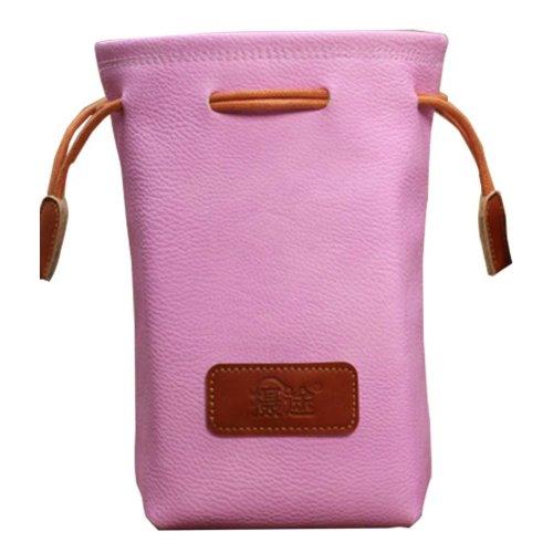Pink Small Camera Backpack Camera Lens Bag Lens Bag