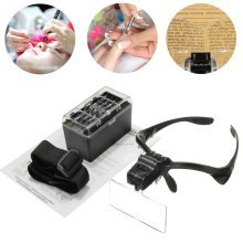 Eyelashes Grafted Tattoo Magnifier