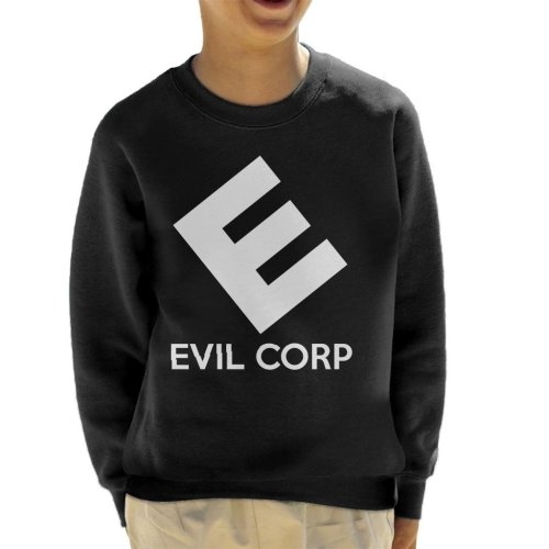 Evil E Corp Mr Robot Kid's Sweatshirt