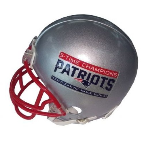 Riddell VSR4 Replica Mini 5 Time Champions Patriots