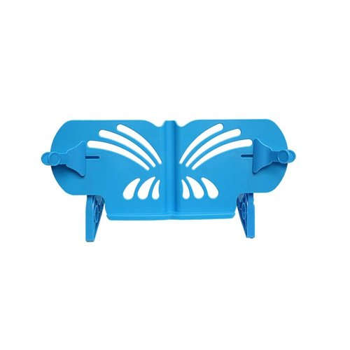 Creative Book Stand Reading Holders Bookends Book Racks, Blue