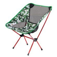 Portable Folding Chair Stool Camping Chairs Moon Fishing Travel Paint Outdoor, Jungle Camouflage