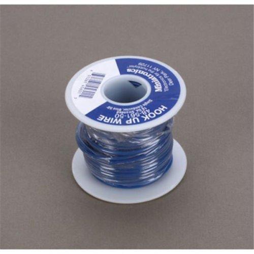 Miniatronics MNT4856150 16 Gauge Wire, Blue - 50 ft.