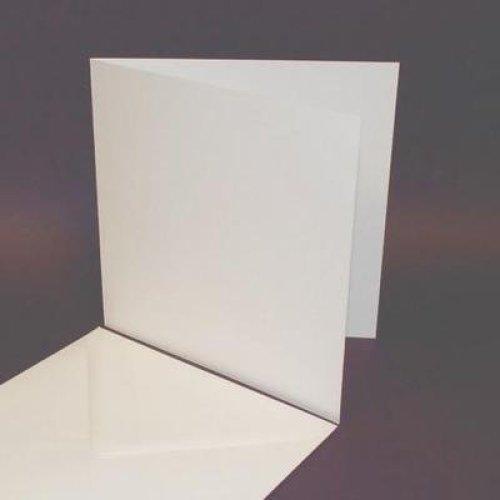 50 Pack - 6x6 White Card Blanks & Envelopes