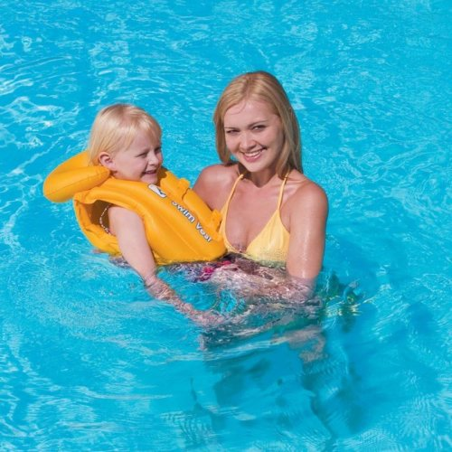 Childs / Kids Inflatable Swimming Vest / Jacket / Ring (Children Aged 3-6 Years)