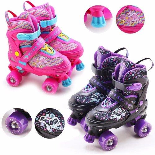 Adjustable Quad Roller Skates
