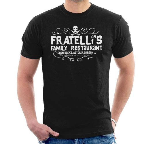 Fratellis Restaurant The Goonies Men's T-Shirt
