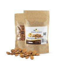 Biopurus Bitter Apricot Kernels 200g | Raw Apricot Seeds